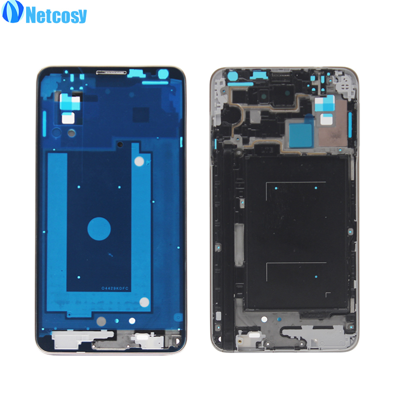 Netcosy For Samsung Galaxy note3 / Note 3 N9005 Mid Middle Frame Housing Plate Bezel Cover Case Replacement Parts Repair Part