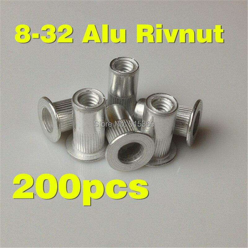 ADAPT 8//32 NUTSERTS RIVNUT INSERTS ALUM RIVNUTS