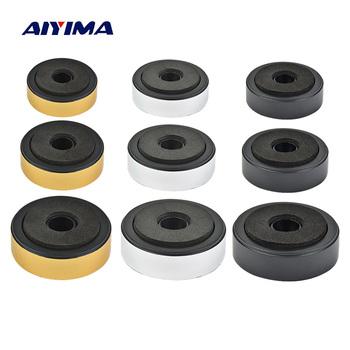 AIYIMA 4 sztuk głośnik kolce stojak stóp Audio aktywne głośniki naprawa części akcesoria DIY dla kina domowego nagłośnienie tanie i dobre opinie Noen Plastikowe