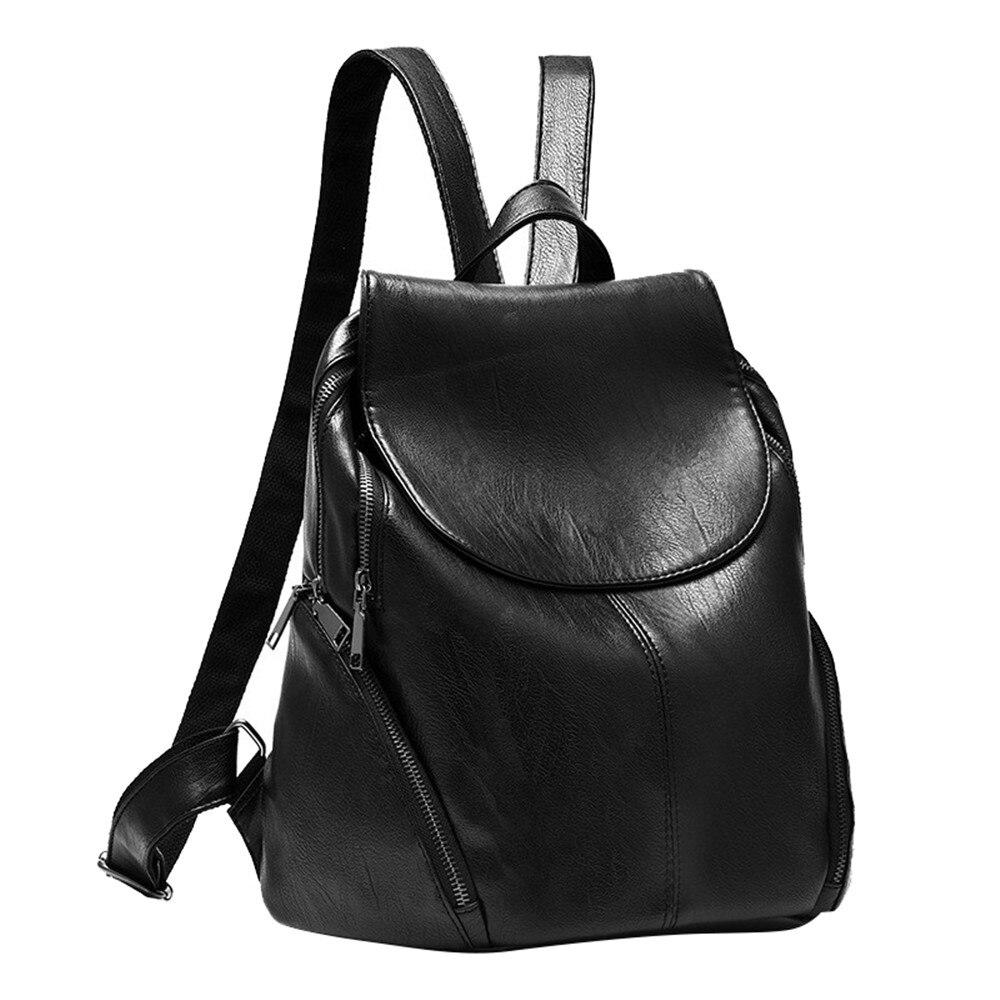 Fashion Backpack Women PU Leather Bag Women Bag Small Women Backpack Mochila Feminina School Bags for Teenagers new arrival women pu leather backpacks female school bags for teenagers simple couple shoulder bag string bag mochila feminina