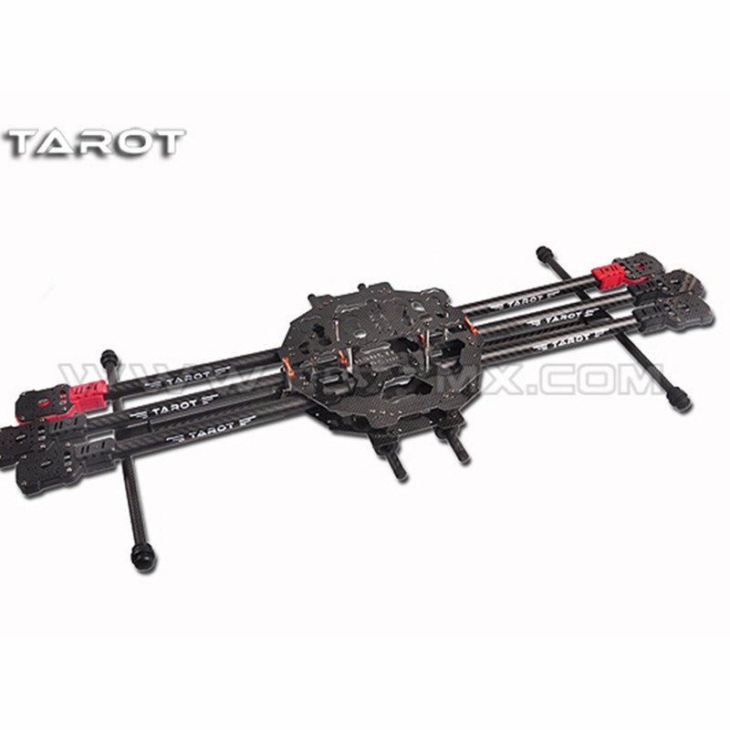 Tarot-RC TL68C01 FY690S Full Carbon Fiber 6-axis Aircraft 3K Folding Hexacopter 690mm for FPV RC Photography tarot t960 folding hexacopter carbon fiber fpv multicopter six rotor aircraft frame set tl960a f rc photography