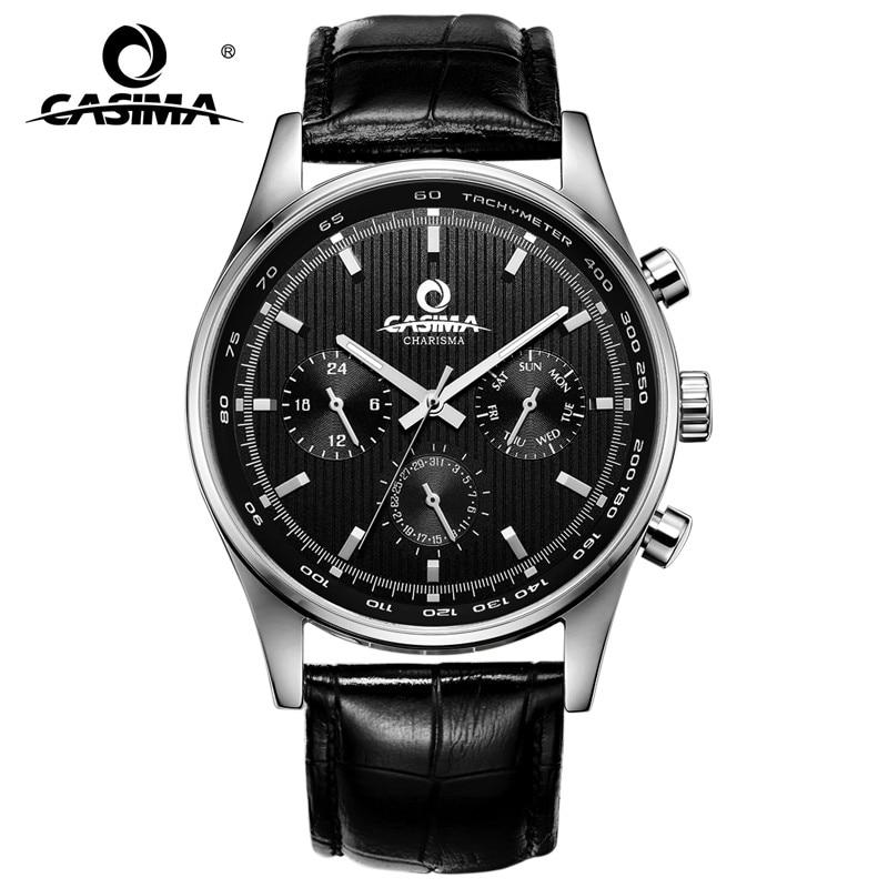 Luxury Brand Watches Men's Fashion Business Dress Casual Sports Quartz Wrist Watch Men Waterproof 100m CASIMA#5114