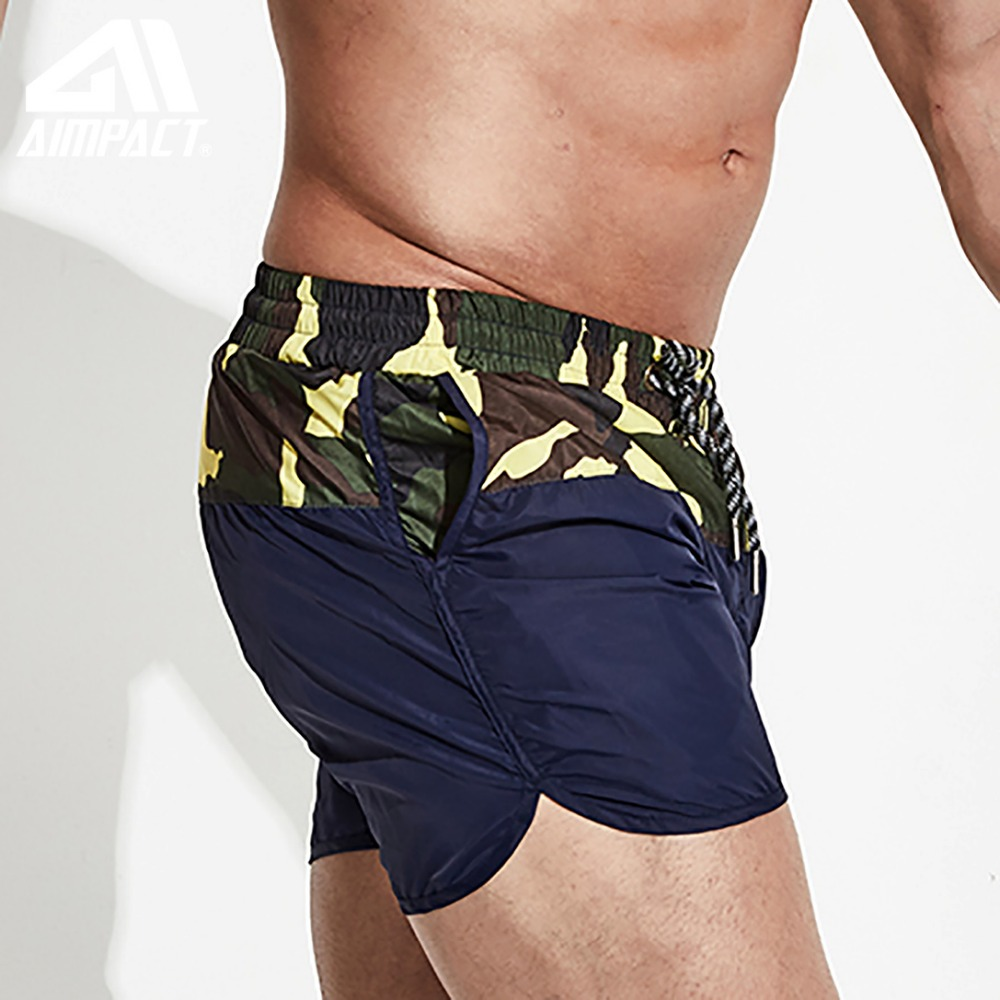 Desmiit Patchwork Men's   Board     Shorts   Camouflage Surfing Beach Men Swimming   Shorts   Athletic Sport Running Gym Male   Shorts   DT78