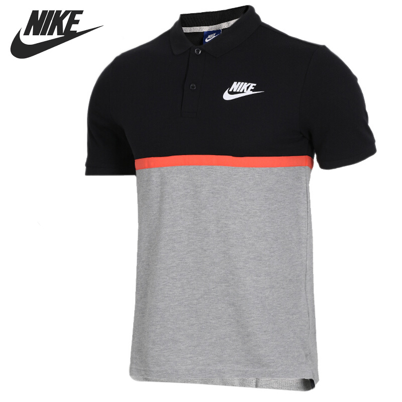 Original New Arrival 2018 NIKE AS M NSW POLO MATCHUP PQ NVLTY Men's T-shirts short sleeve Sportswear цена