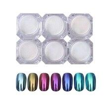 Shiny Nail Glitter Powder Gorgeous Nail Art Chrome Pigment G