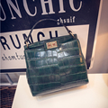 New hot!!2016 women's fashion handbag for Crocodile  young lady street small  bags   messager bag  shoulder bag