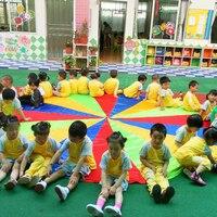 Dia 1 8M 3M 3 5M 4M 5M Kid Outdoor Sports Toy Rainbow Umbrella Parachute Toys