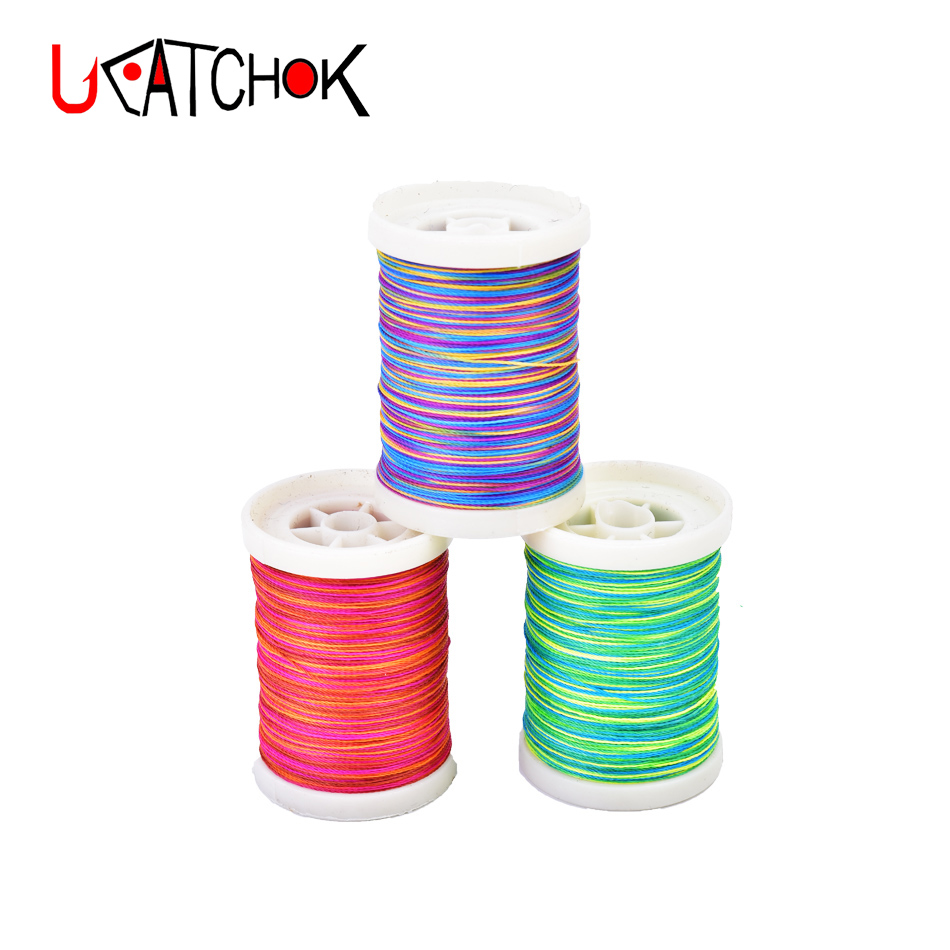 165yards NCP rod guides tying thread Rod ring fasten binding line Fishing DIY components fishing tackle accessories