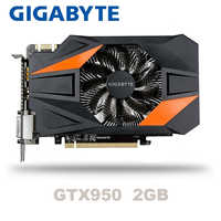 Gigabyte GV-N950OC-2GD GT950 GTX950 2GB DDR5 128 Bit nVIDIA PC Desktop Graphics Cards PCI Express 3.0 computer Graphics Cards