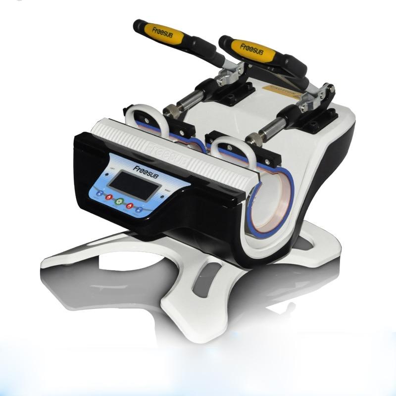 ST-510 5 in 1 Combo Doppel Station Becher Presse Maschine Mup Druck Maschine Sublimation Drucker für 6 unzen/9 unzen/11 unzen/12 unzen/17 unzen Tasse