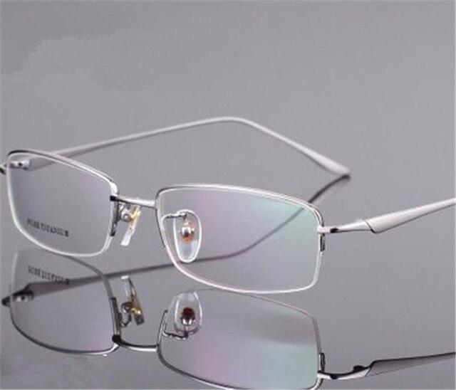 Известный дизайн очки свет чистого титана очки мужчин по рецепту кадров