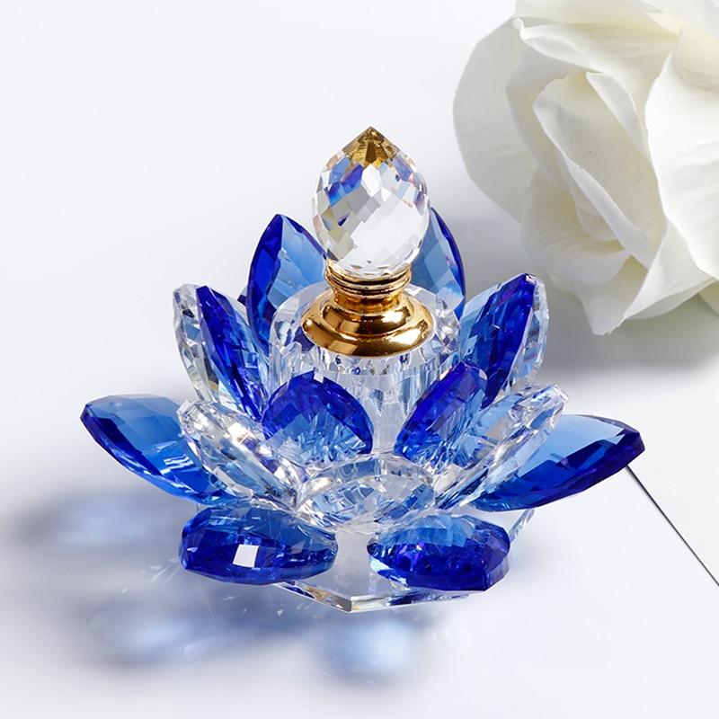 1 дана Crystal Lotus Flower Figurines Парфюмерлік - Үйдің декоры - фото 6