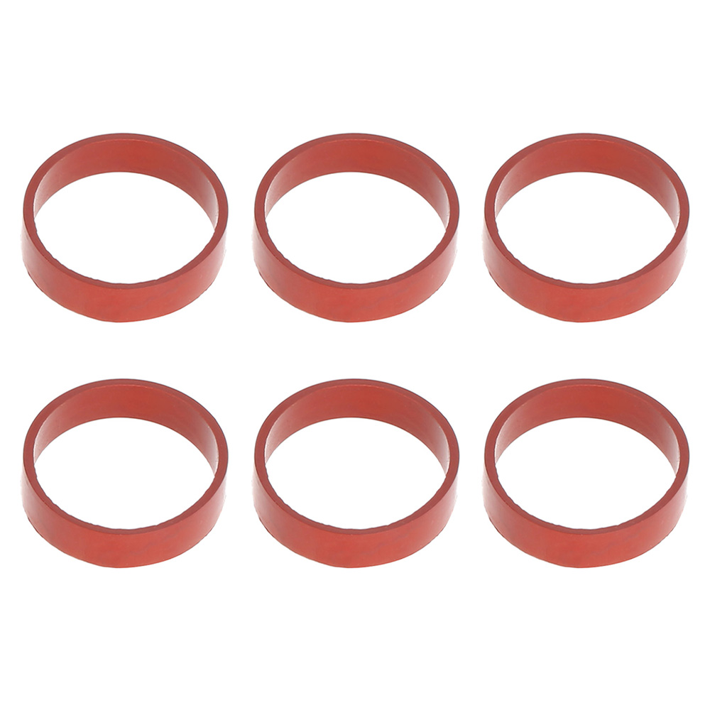 6 PCS 22mm Diesel Swirl Flap Blanks Replacement Bungs with Intake Manifold Gaskets for BMW 320d 330d 520d 525d 530d 730d