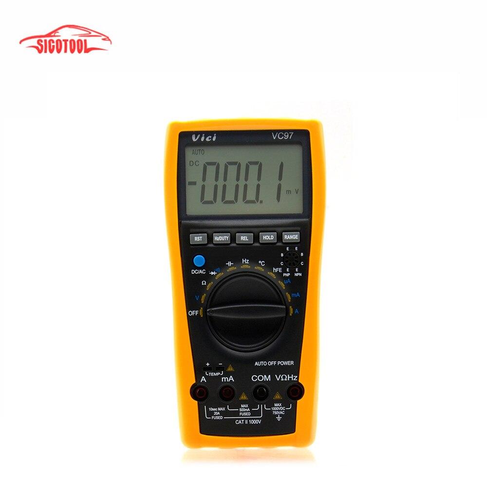 vc97 мультиметр инструкция