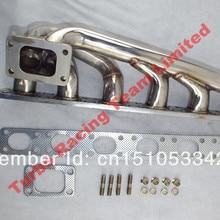 T3 гоночный турбо-зарядное устройство выпускной коллектор 92-99 E36 325/328/323 M50/M52 l6