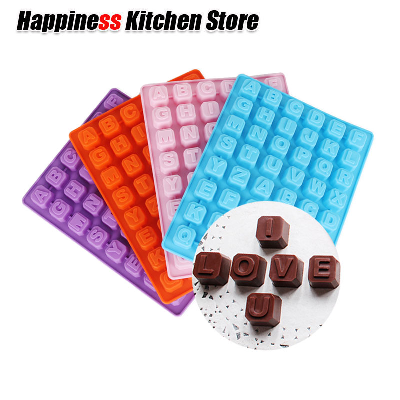 Sugar Symbols Diy Silica Gel Useful Capital Letters Silicone Chocolate Cake Baking Tools Buy One Give One Mold