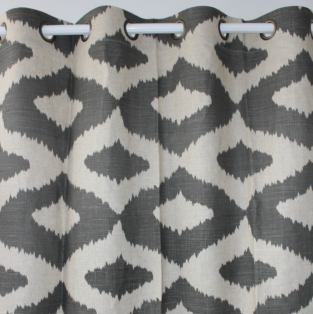 Geometric Patterned Curtains Popular Geometric Grey Curtains Buy Cheap Geometric Grey Curtains