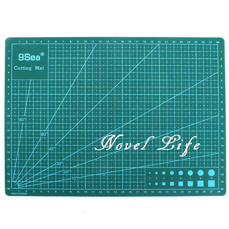 Good Nine Sea A2 PVC Double Printed Green Cutting Mat Paper Cutting Project Work  Pad Surface With Scale For Paper Crafts Model Design In Hand Tool Sets From  ...