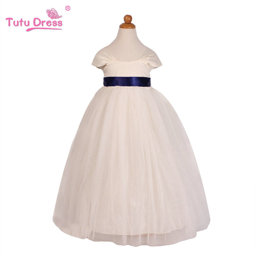 New brand girls dress summer 2 12 years baby girls dress for Summer dresses for wedding party