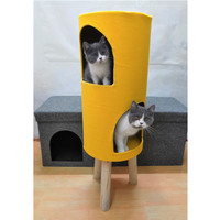 kitten cat plush cat toy house for cats tree climbing pets products climbing house toy new products 2018 cat tower