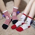 Рождество Зима мультфильм хлопок Теплый Мягкий Аниме Хлопок 5 Пальцев Носки Фанки Носки Пять пальцев носки 5 пара бесплатная доставка