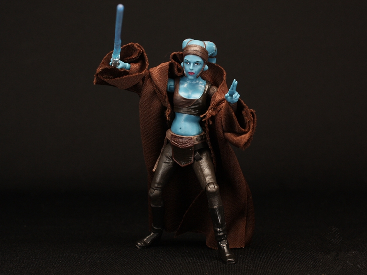 3 75'' figures Star Wars Jedi Knight AAYLA SECURA joint 's