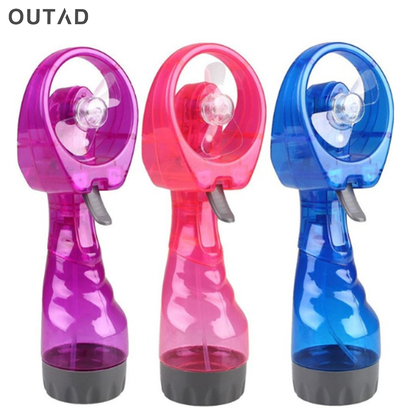 Hot UK British cute Portable Handheld Battery Electric Fan Air Water Bottle Steam SprayHot UK British cute Portable Handheld Battery Electric Fan Air Water Bottle Steam Spray