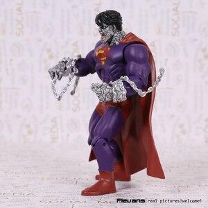 """Image 2 - DC Superhero Evil Bad Superman PVC Action Figure Collectible Model Toy 7"""" 18cm"""