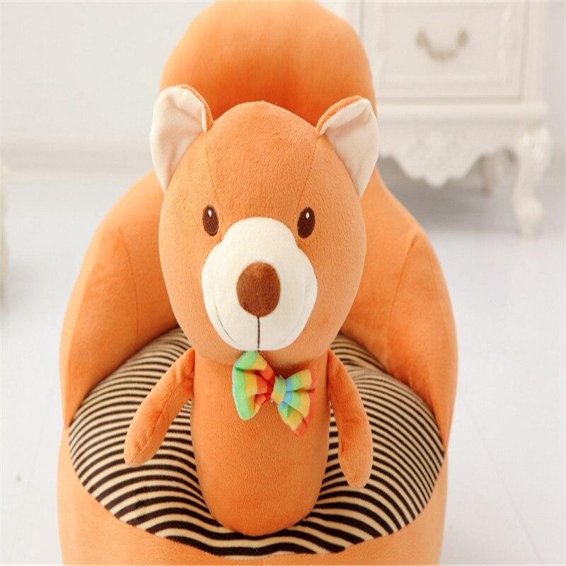 PP cotton stools Creative cartoon animal benches seat upholstery plush cute child adult children sofa