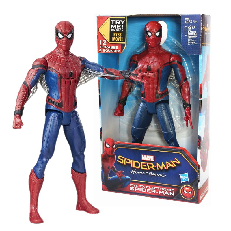 font b Toys b font Action Figure Anime Spiderman Mavel Movie 30cm PVC Super Hero