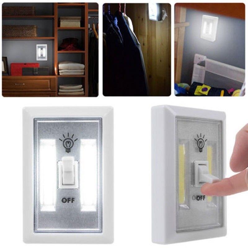 2 шт./5 шт. вел настенный выключатель магнит гардероб беспроводная света ali88 ...