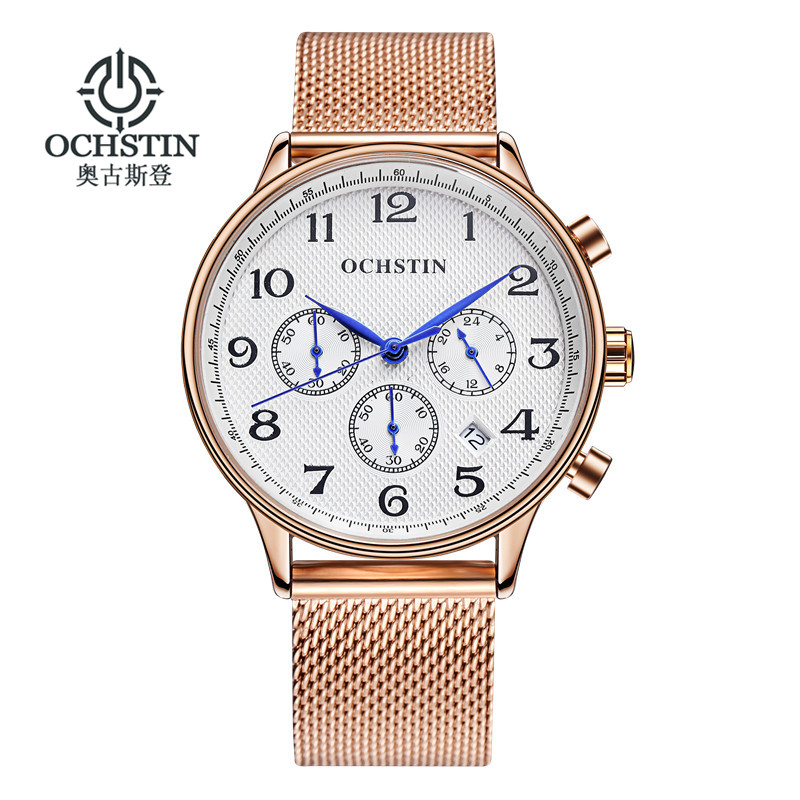 font b Reloj b font Hombre 2017 OCHSTIN Fashion Chronograph Sport Mens Watches Top Brand