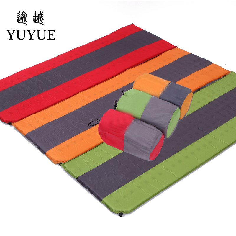 High quality foam Waterproof Inflatable Mattress Camping Tent Travel Mat Bed Equipment for camping Inflatable Mattresses 0