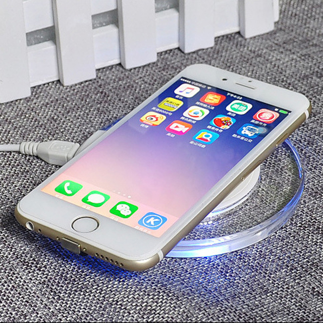 Qi Wireless Charger Charging Induction USB Charger for Apple iPhone 8 Plus/ X for Samsung Galaxy S8/S8 Plus Note 8