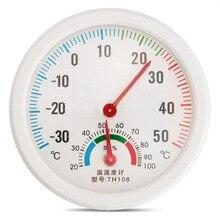 Колеи влажность гигрометр круглые форме температуры метр термометр крытый часы открытый