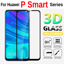 3D Glass For Huawei P Smart 2019 Screen Protector Protective Glass On The For