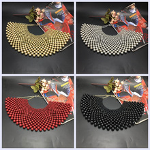 MANILAI Brand Indian Jewelry Handmade Beaded Statement Necklaces For Women Collar Beads Choker Maxi Necklace Wedding Dress