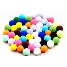 10 мм плюшевые шарики для самостоятельного изготовления ювелирных изделий, аксессуары для одежды, оптовая продажа, 50 шт.