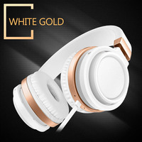 Picun C9 Stereo Bass Over Ear Headphones 3 5mm Audio With Microphone And Volume Control Wired