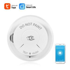 Image 1 - Wifi Rookmelder Smart Fire Alarm Sensor Draadloze Beveiliging Systeem Smart Leven Tuya APP Controle Smart Home