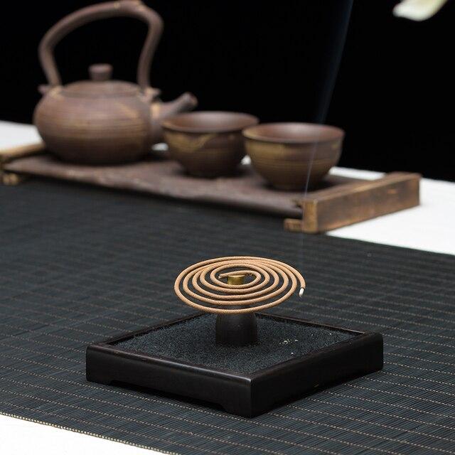 PINNY-encensoir Huian vietnamien | 40 pièces, Encens naturel aromatique, Spirale, promotion méditation aromathérapie, bâtonnets thé Yoga
