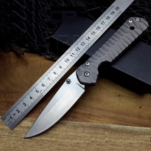 Large Sebenza 58HRC 440C blade All steel Handle Folding Pocket hunting Knife camping Tactical survival knives edc tools