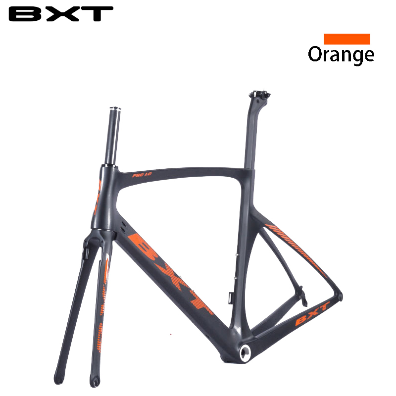 New carbon road bike frame Di2 super light T800 49-52 cm cadre carbone route 2016 Chinese road bicycle frame  недорого