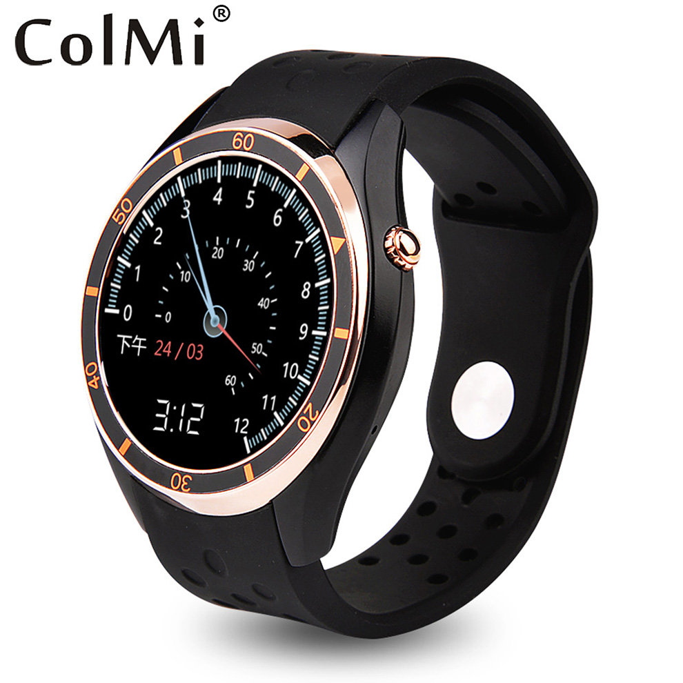ColMi Smart Watch Android 5.1 OS SIM Card 3G WIFI GPS APP Download Google Play Bluetooth Connectivity Smart Phone Watch adult smart watch phone for men 3g android watch with gps google play bluetooth men watch camera pk gt08 smart watch