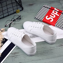 Shoes Women Classic Canvas Shoes Fashion 2019 Summer Autumn Casual Shoes Sneakers White Flat Low Soft Trainers Ladies