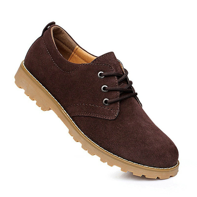 Autumn Mens Fake Designer Shoes Fashion Solid Suede Shose Men Cheap Shoes  From China Male Classic Casual Footwear Size 38 - 44 fc401cf399