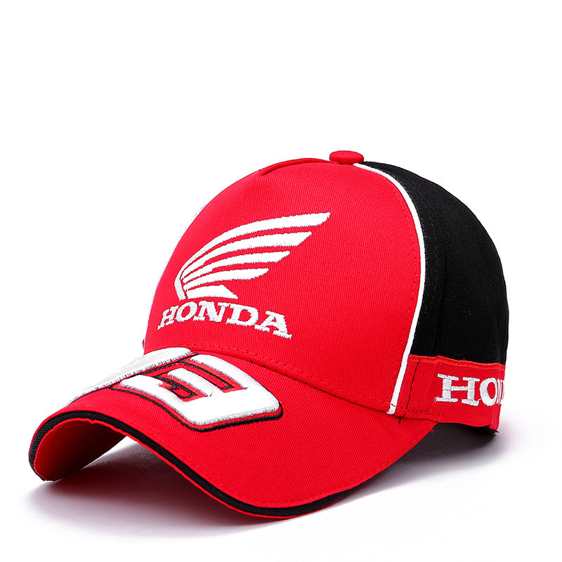 99e9e05e Moto GP 93 Motorcycle Racing Hat Motocross Riding Hats 3D Embroidered Wing  Racing T Baseball Cap Men gorro Honda F1 Cap Golf