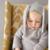 2017 Nova Primavera Outono Crianças de Algodão Estilo Coelho Orelha Longa Blusas de capuz Para Meninos Das Meninas Do Bebê Outono Camisola de Malha Roupas Cardigan