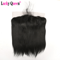 Brazilian Straight Human Hair 13 4 Ear To Ear Lace Frontal Closure With Baby Hair Free