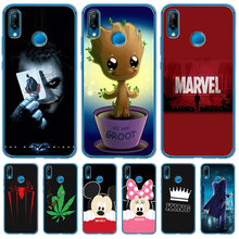 Luxury Marvel For Huawei Mate 9 10 20 P8 P9 P10 P20 P30 P Smart Lite Plus Pro Cover Case Silicone Coque Etui Women Mickey Mouse